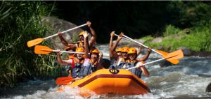 rafting sur la rivière Ayun